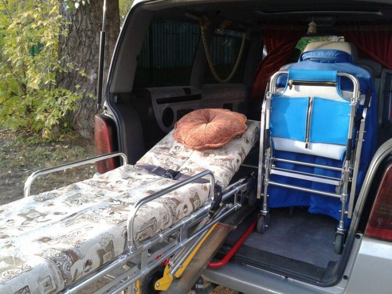 перевозка больных в Украине