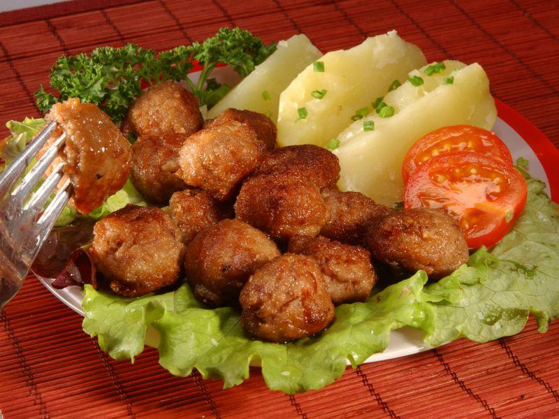 рецепты с фрикадельками на второе с фото пошагово
