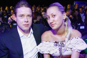 Павел Буре с женой