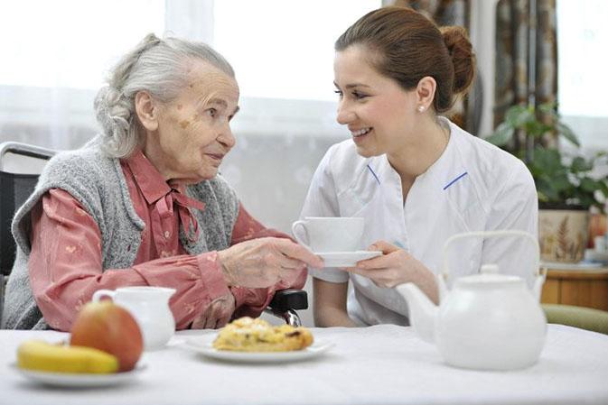 питание в доме престарелых