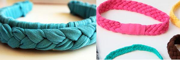 Плетем косичку — получаем стильную повязку. Фото с сайта barishnia.ru