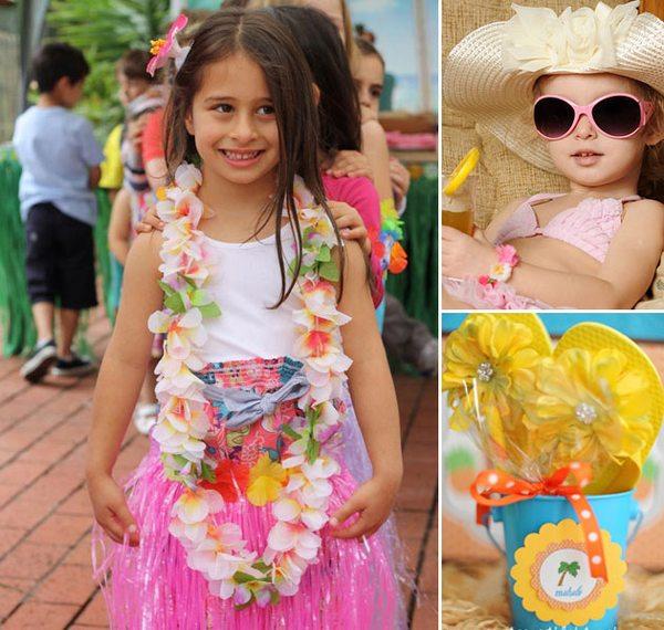 Гавайская вечеринка — зажигательно и для детей, и взрослых