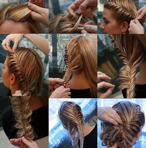 Причёски на 1 сентября на средние волосы 7 класс фото