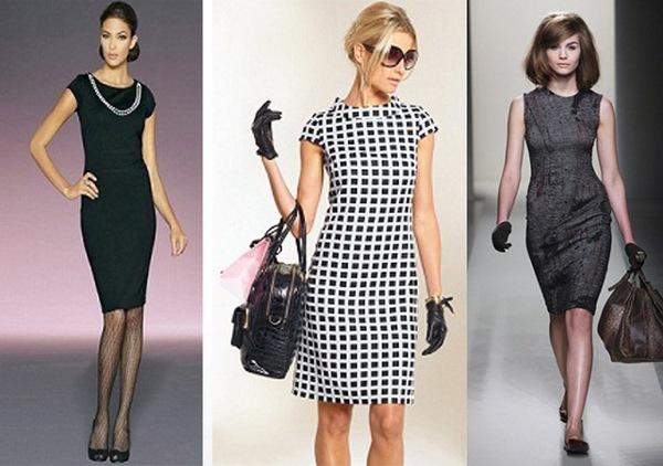 Выбираем свое платье-футляр. Фото с сайта www.trendygirl.ru