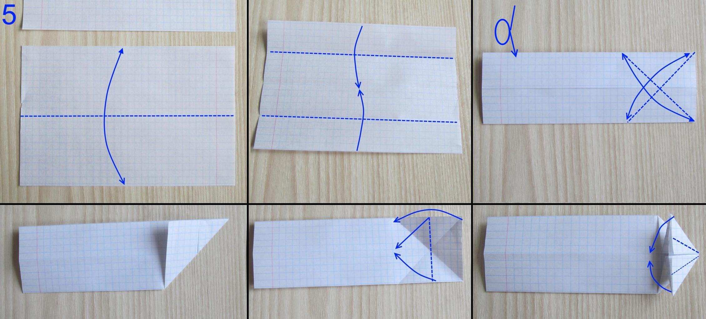 Как сделать танк из бумаги схемы оригами
