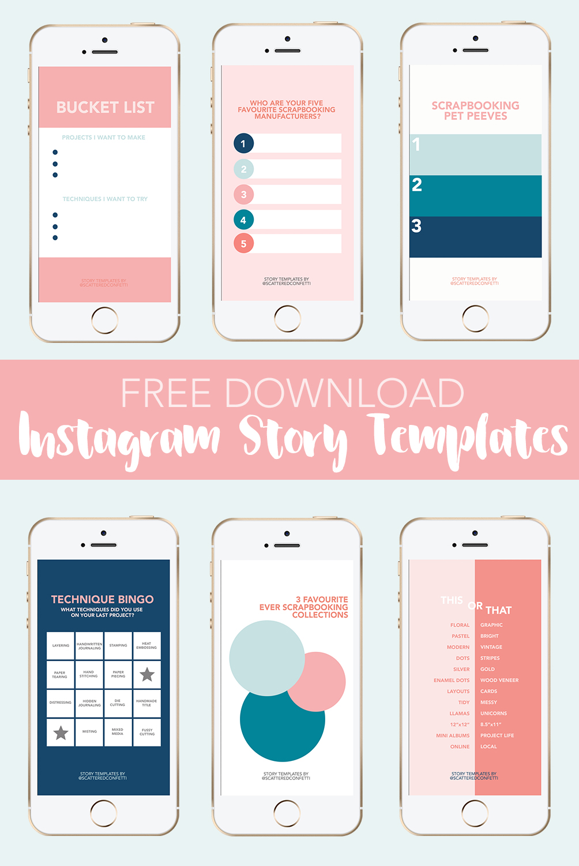 Free templates for instagram social network | Zen-promo