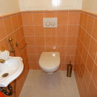 классический вариант туалета