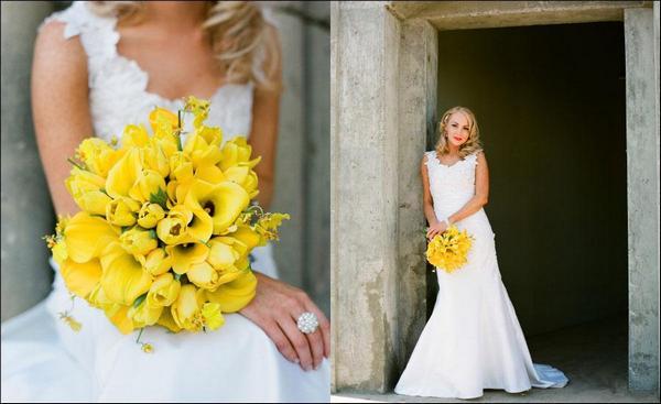 Как устроить свадьбу в желтом цвете. Фото с сайта vk.com