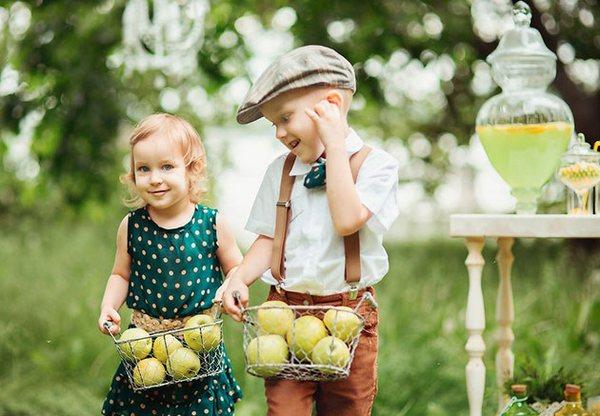 Яблочная свадьба — счастье, жизнь и радость! Фото с сайта lulusvadba.ru