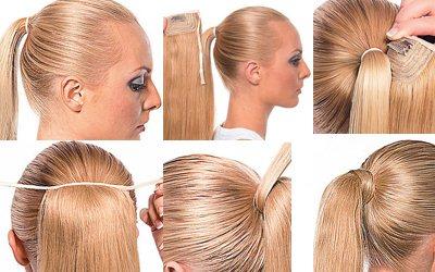 купить накладные волосы