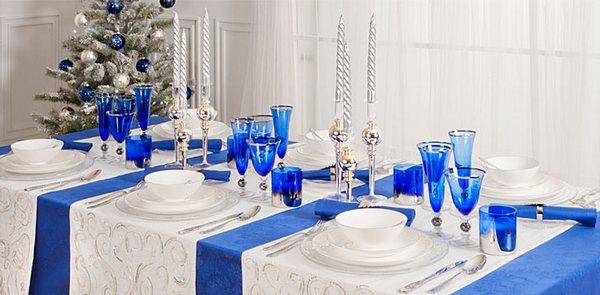 Сервируем новогодний стол в соответствии с символами года. Фото с сайта http://hature.clan.su