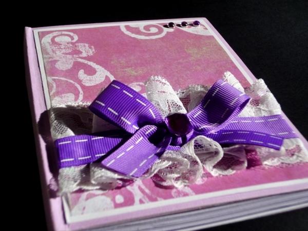Романтичный блокнот в подарок. Фото с сайта http://www.happy-giraffe.ru/