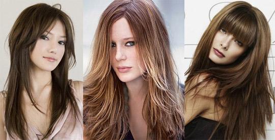 Картинки стрижки женские для длинных волос