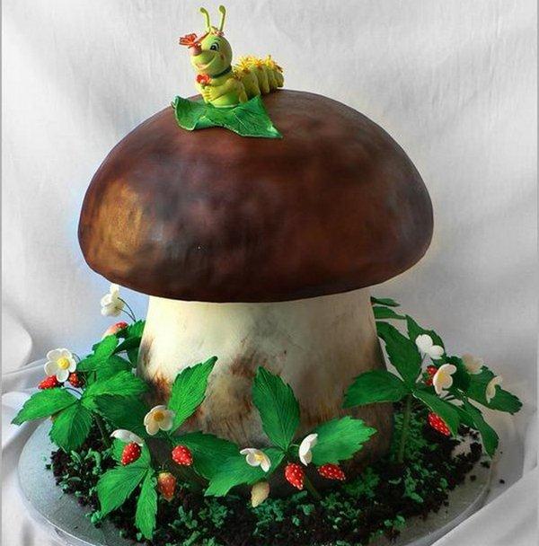 Гриб грибнику. Фото с сайта fotoda.kz/