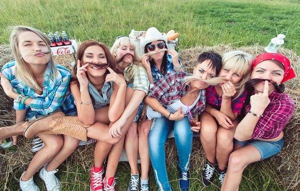 День рождения на природе — отличный способ повеселиться! Фото с сайта Фото с сайта vk.com