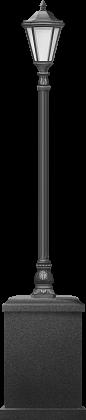 Торшер в классическом стиле, 2,6 м