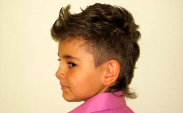 Красивые причёски для мальчиков с короткими волосами