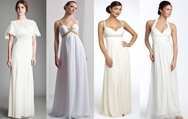 Платья для греческой богини. Фото с сайта tvoja-svadba.ru