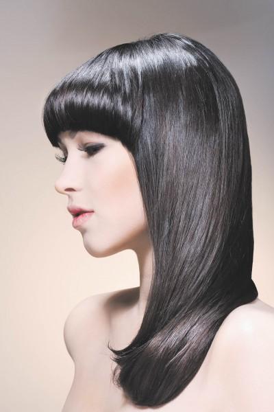стрижка паж на длинные волосы фото