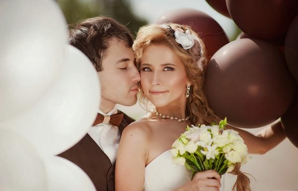 Оригинально и роскошно — шоколадная свадьба. Фото с сайта www.kovshova.ru