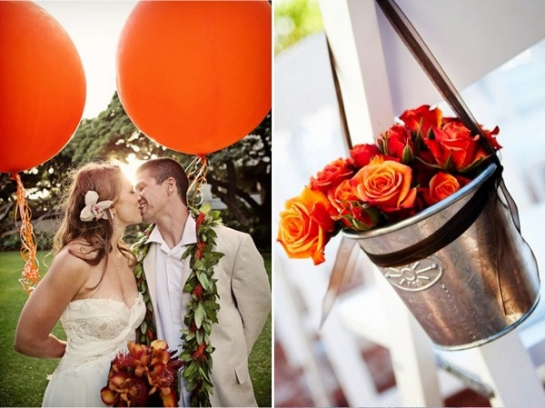 Ярка свадьба! Фото с сайта beautiful-wedding.ru