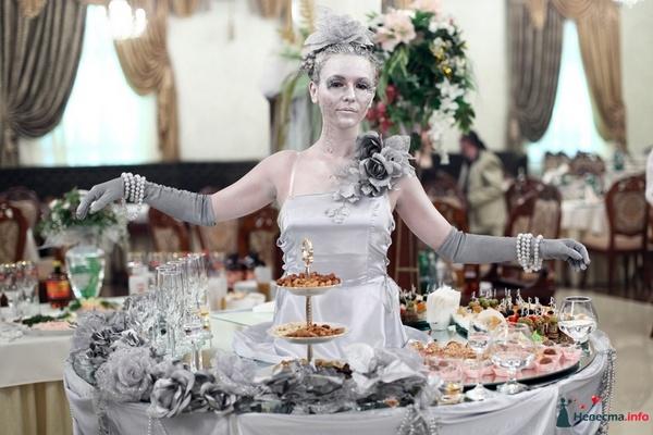 Леди-фуршет — изюминка вечера. Фото с сайта www.nevesta.info