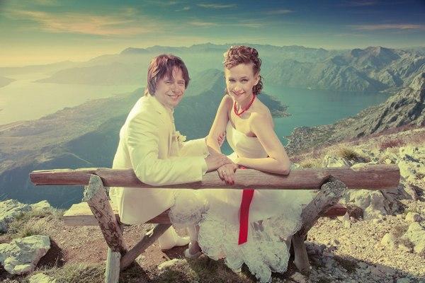 Свадьба в Черногории — в окружении гор. Фото с сайта http://www.pssp.ru