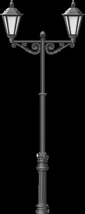 Классический фонарь, высота столба от 3 до 5 метров