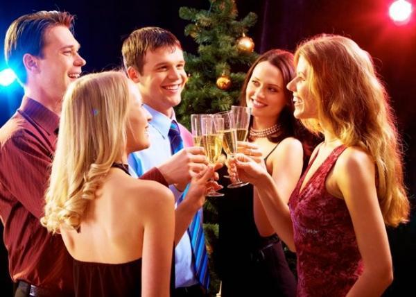 Голливудская вечеринка. Фото с сайта www.sylwester.biz.pl