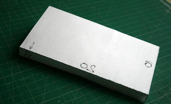 Складываем бумагу по схеме. Фото с сайта http://scrap-owls.blogspot.ru/