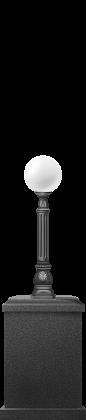 Торшер классический, 1,3 м