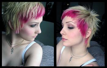 стрижка треш на средние волосы фото