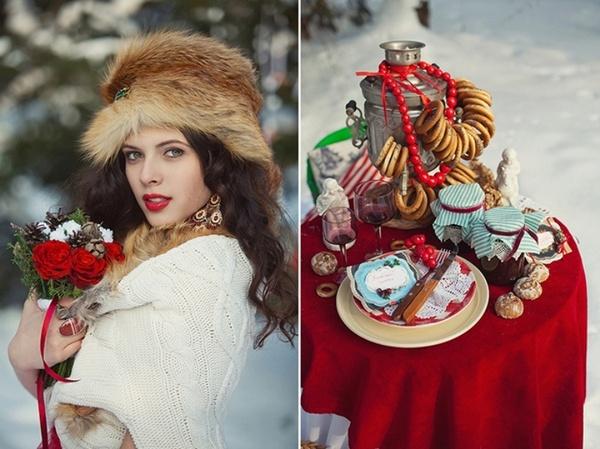 Как устроить свадьбу в русском стиле. Фото с сайта www.forum-grad.ru