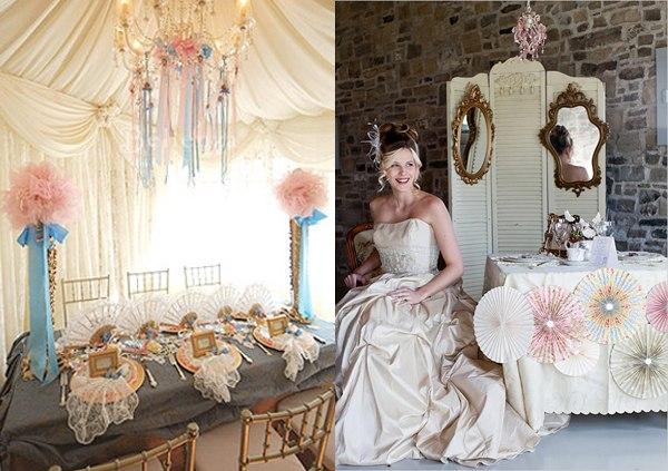 Свадьба в стиле борокко — роскошно! Фото с сайта vk.com