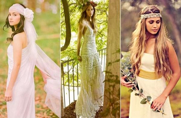 Невесты в стиле бохо. Фото с сайта svadba-land.com