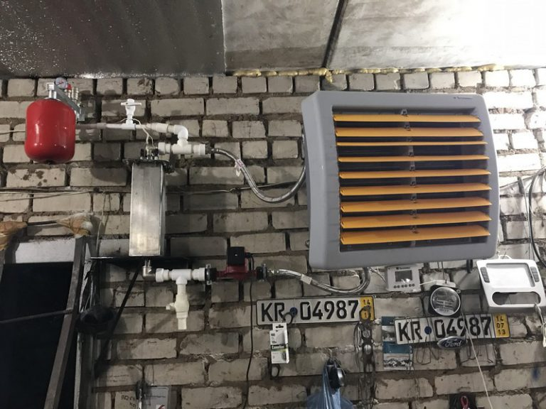 Отопление гаража электрическими приборами