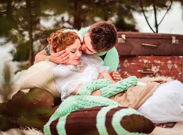 Как организовать свадьбу в мятном цвете. Фото с сайта www.svadebka.ws