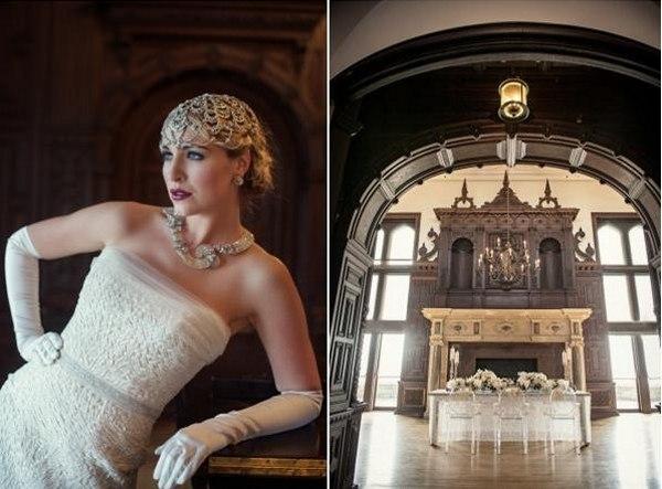 Свадьба в стиле Гэтсби — роскошно! Фото с сайта wedding-fever.info