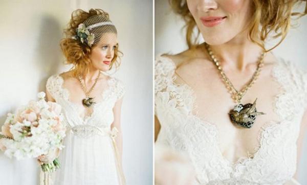 Свадебный наряд в стиле бохо. Фото с сайта http://vk.com