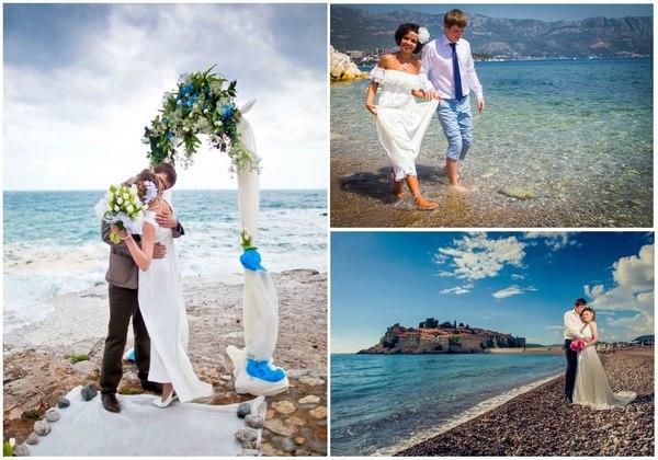 Незабываемая свадьба на берегу Адриатического моря. Фото с сайта vk.com