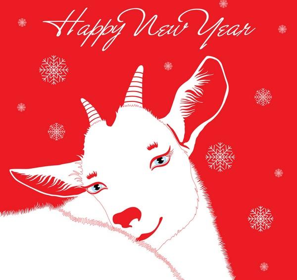 Очаровательная Коза — символ 2015 года. Фото: s_shimko - Fotolia.com