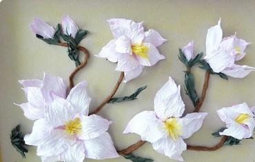 Цветы из мятой бумаги. Фото с сайта рstranamasterov.ru
