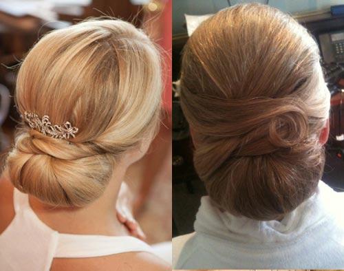 повседневные прически на средние волосы фото