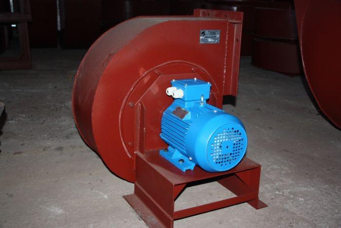 дымоотводная установка с электродвигателем
