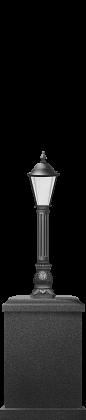 Классический стиль торшера, 1,1 м