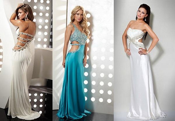 Оригинальные вырезы на платьях. Фото с сайта allbiz-idei.ru