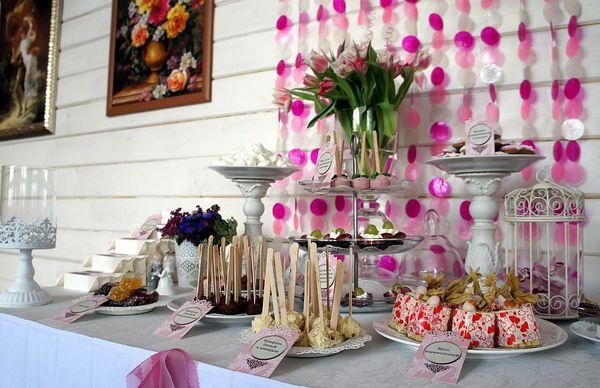 Как организовать кэнди-бар на свадьбу. Фото с сайта www.livemaster.ru