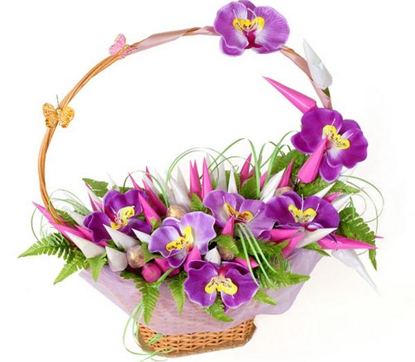 О нежности поведает орхидея. Фото с сайта order-media.ru