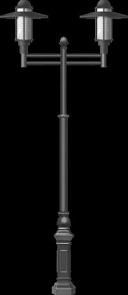 Литая опора в классическом исполнении от 3,5 до 5 м