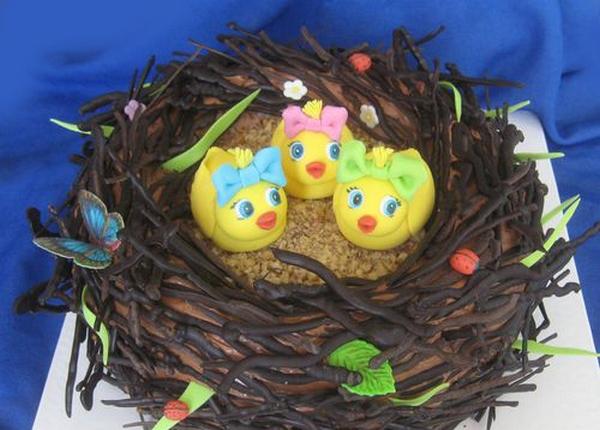 Милые птенцы в гнезде. Фото с сайта forum.u-samovara.ru